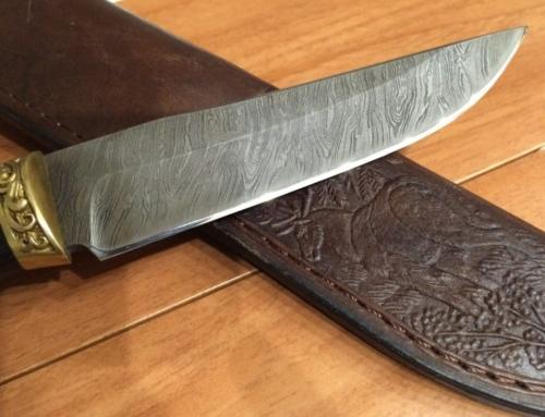 Тестирование заточенного ножа